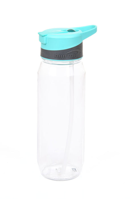 Sports Water Bottle (With Straw) - 800 ml mintra-shop.myshopify.com Turquoise