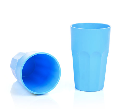 Large Unbreakable Plastic Cups 450 ml (2 pack)