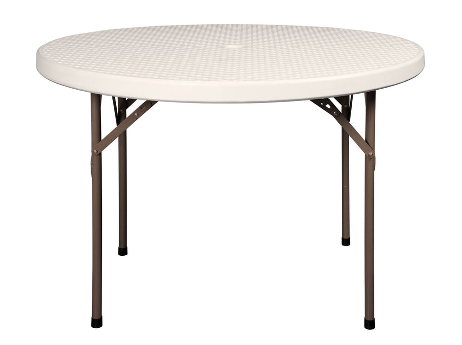 CR 110 - Round Ratan 110 Folding Table