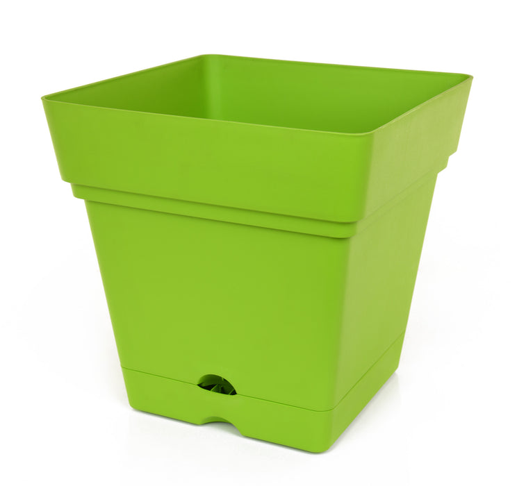 Square Pot With Wheels (38 cm)