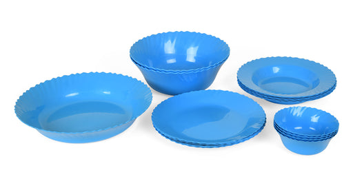 Curly Dinner Set mintra-shop.myshopify.com Blue