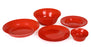 Curly Dinner Set mintra-shop.myshopify.com Red