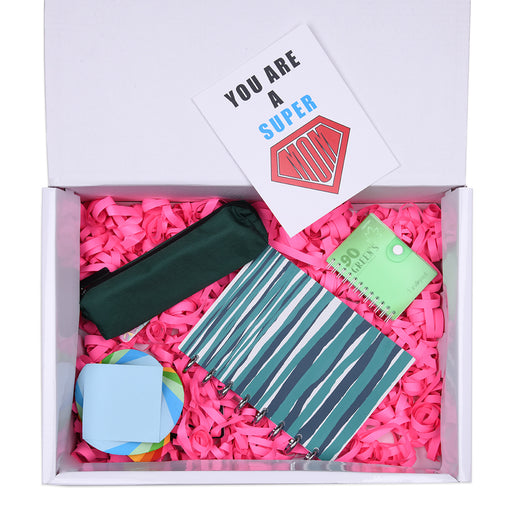 Working Mom Box (Striped Talia Notebook) 5 Items