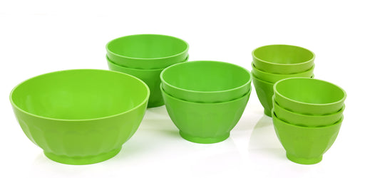 Unbreakable Bowls Set mintra-shop.myshopify.com Green
