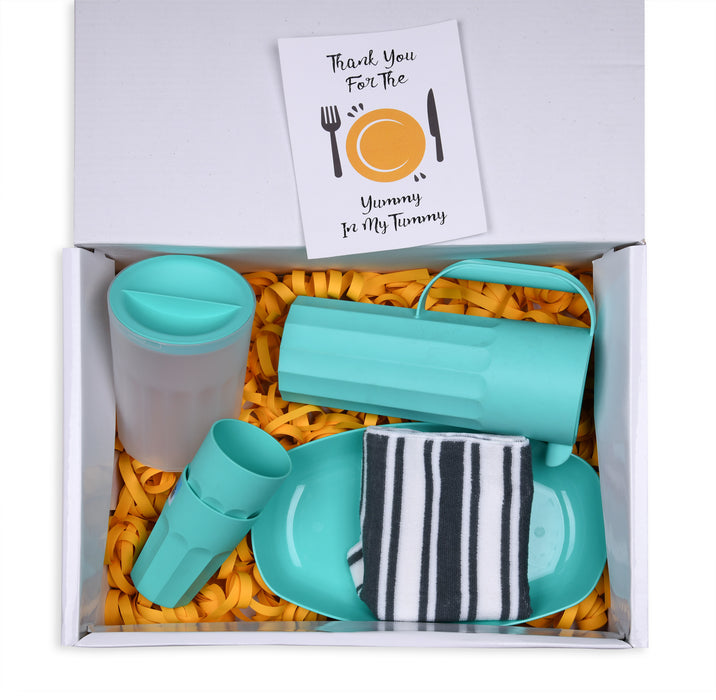 For The Foodie (Turquoise) 7 Items