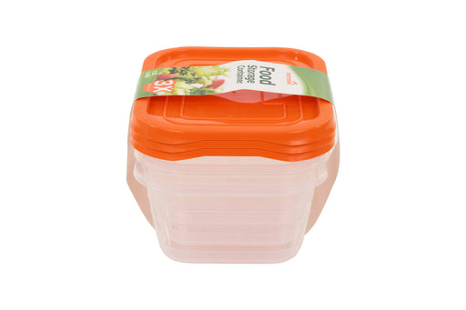 Fridge 1.3L Storage Container (pack of 3)