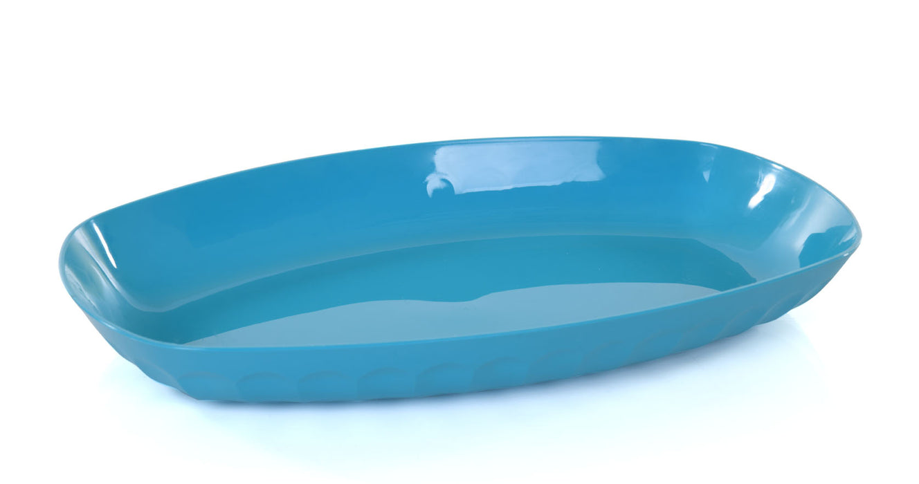 Unbreakable Oval Serving Tray (Pack of 2)