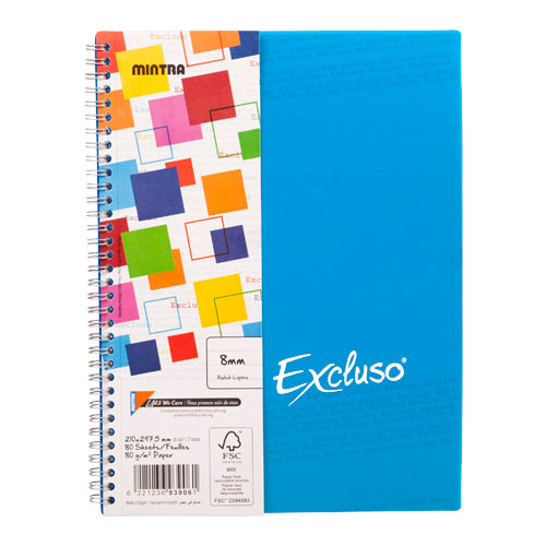 Excluso Notebook (22x17 cm)