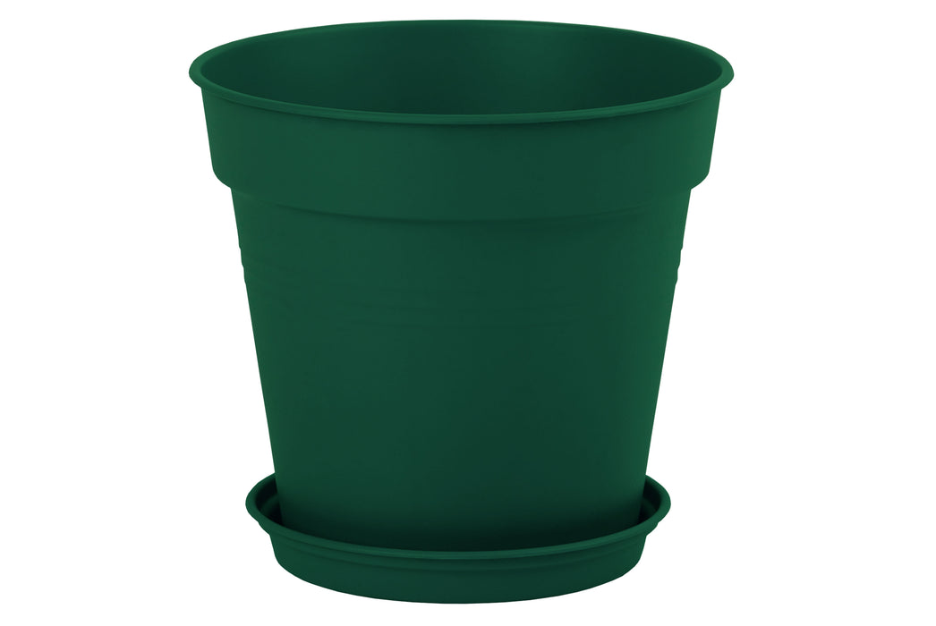 Round Pot 35 cm mintra-shop.myshopify.com Dark Green