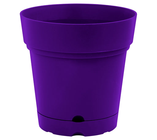 Decorative Round Plant Pot - 8.5 inch mintra-shop.myshopify.com Purple