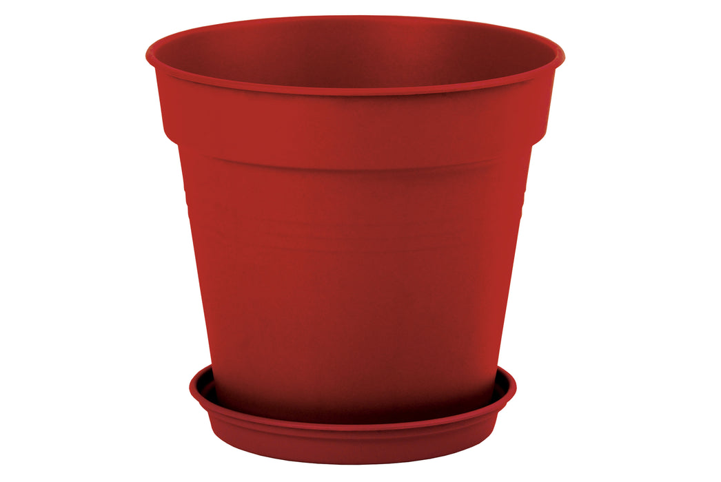 Round Pot 35 cm mintra-shop.myshopify.com Red