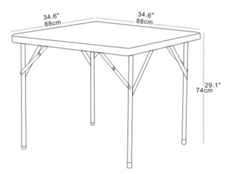 S 88 White - Square Table 88 cm mintra-shop.myshopify.com [variant_title]