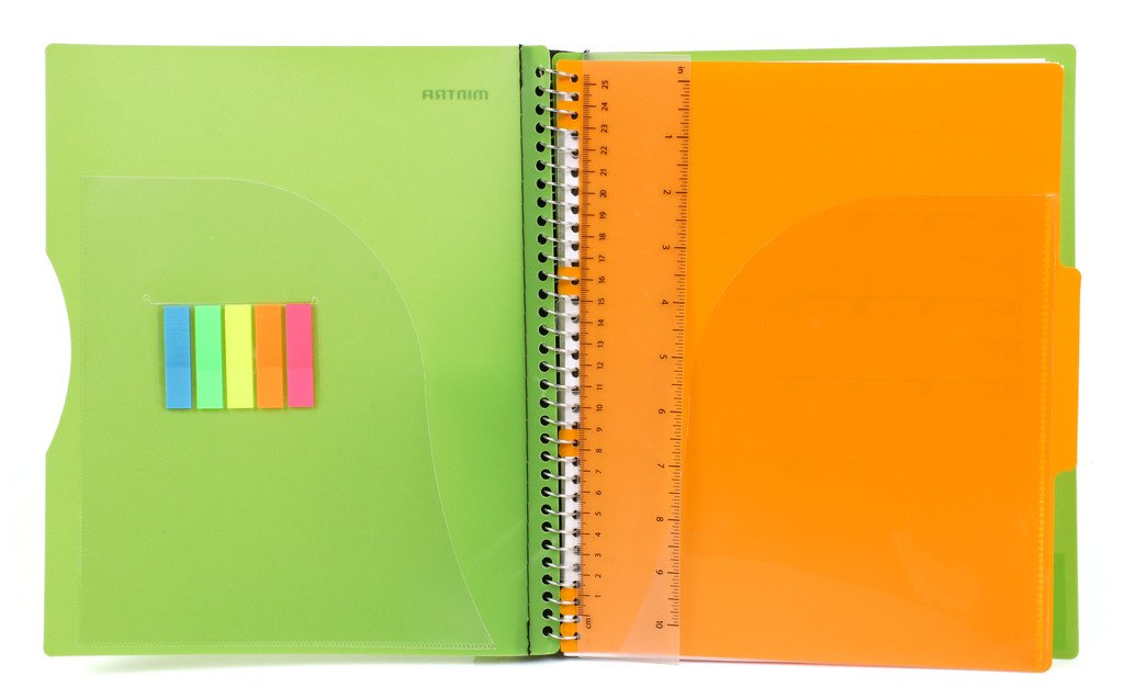 Durable Premium Spiral Notebook (1 Subject)