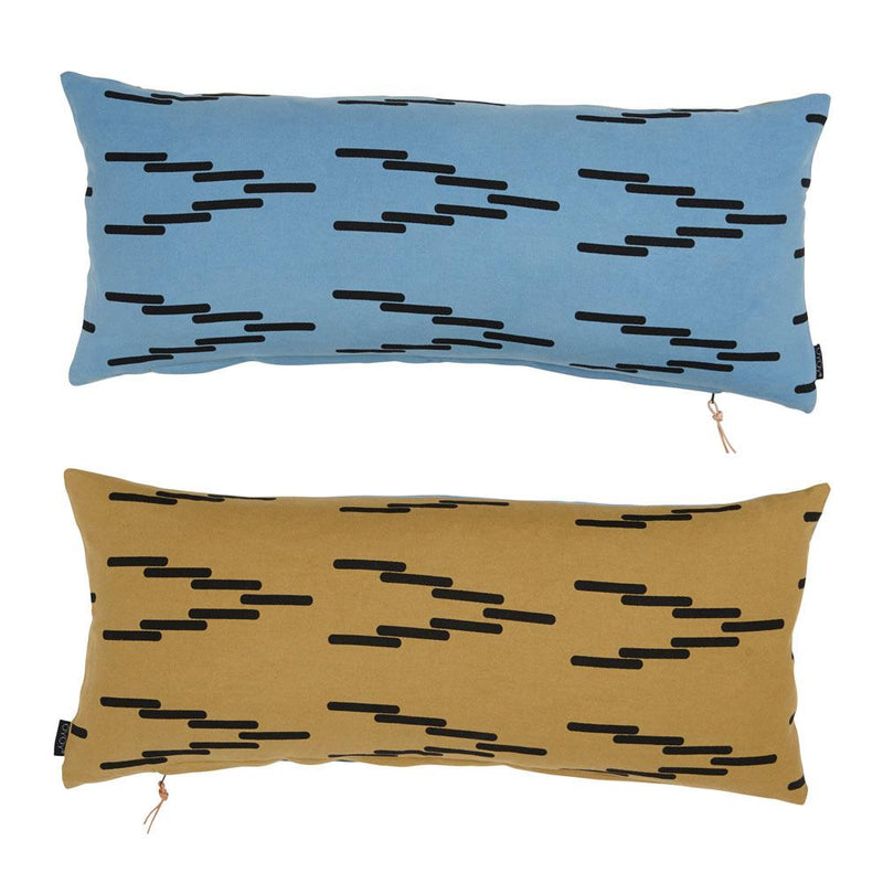 OYOY Living Design - OYOY LIVING Cima Cushion Cushion 604 Petrol / 804 Curry