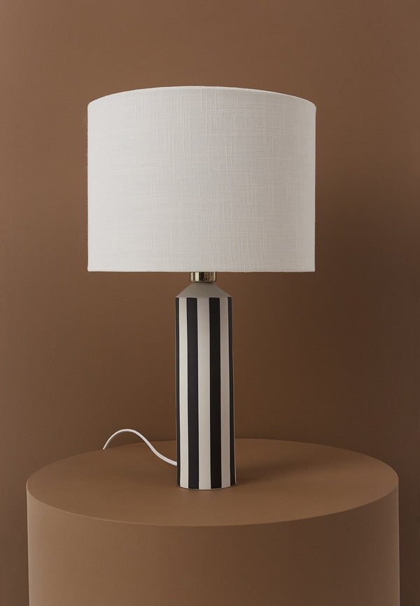 OYOY Living Design - OYOY LIVING Toppu Lamp Table Lamp 102 Offwhite / Anthracite ?id=11597648658512
