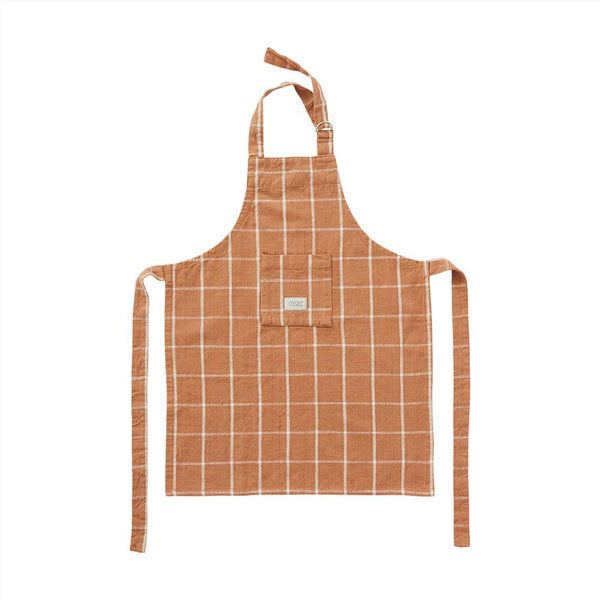 OYOY Living Design - OYOY MINI Apron for Kids - Gobi Mini Apron 307 Caramel