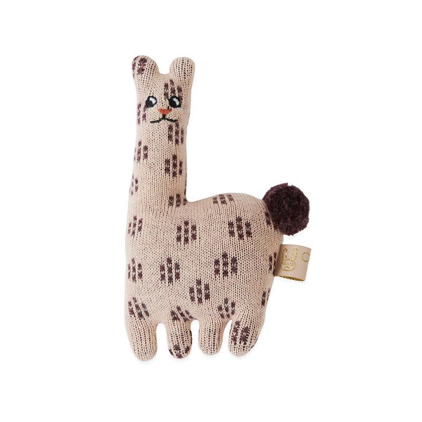 OYOY Living Design - OYOY MINI Baby Rattle - Lama Soft Toys 402 Rose ?id=13269794553936