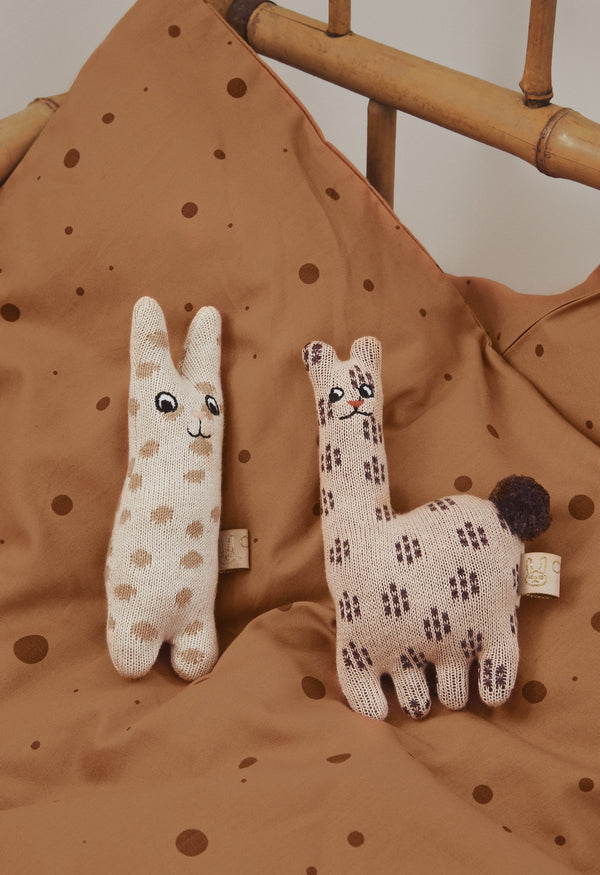 OYOY Living Design - OYOY MINI Baby Rattle - Rabbit Soft Toys 401 Nude ?id=13269793701968