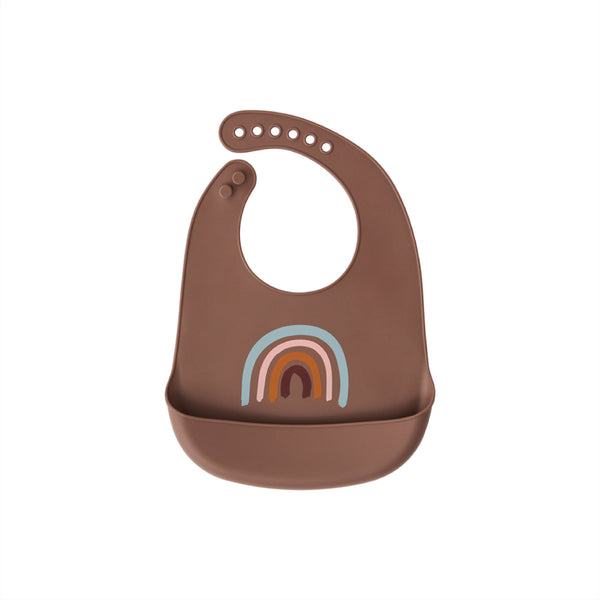 Bib Rainbow - Pack of 2 - Brown