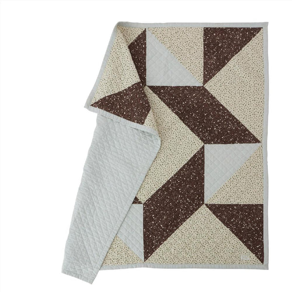 OYOY Living Design - OYOY MINI Blanket Aya Quiltet Plaid 908 Multi ?id=16031161516112