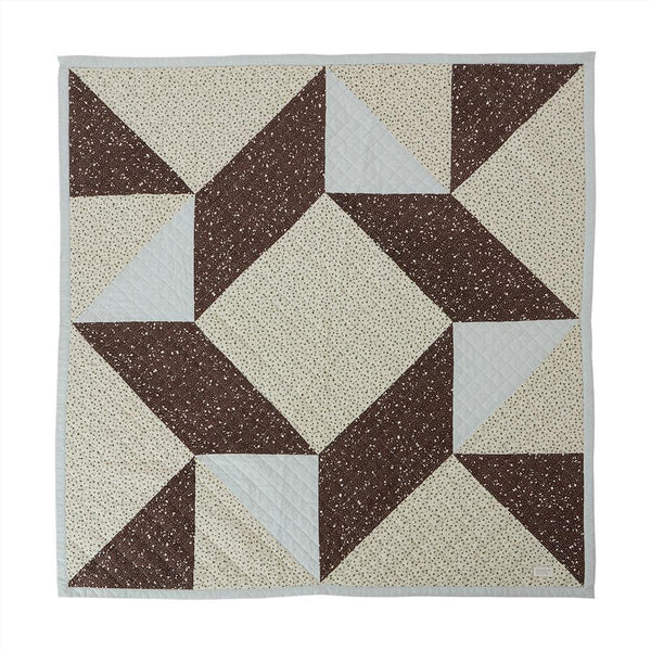 OYOY Living Design - OYOY MINI Blanket Aya Quiltet Plaid 908 Multi ?id=16136843231312
