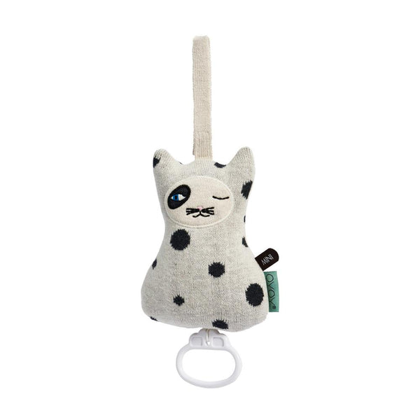 OYOY Living Design - OYOY MINI Cat Music Mobile Accessories - Kids 102 Offwhite