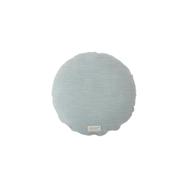 OYOY Living Design - OYOY LIVING Cushion Kyoto Round Cushion 608 Dusty Blue