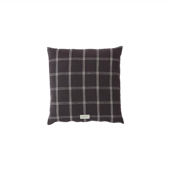 OYOY Living Design - OYOY LIVING Cushion Kyoto Square Cushion 201 Anthracite ?id=16114465112144