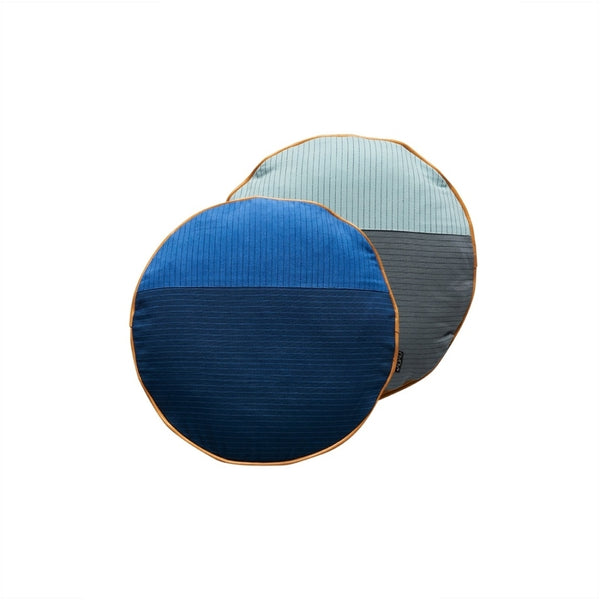 OYOY Living Design PI Cushion Cushion 601 Blue / Dark Blue
