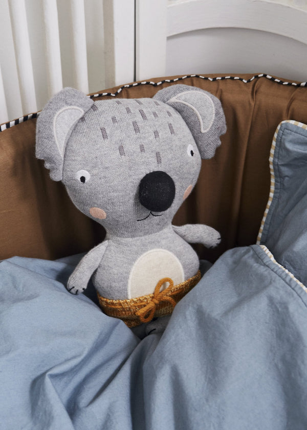 OYOY Living Design - OYOY MINI Darling Cushion - Baby Anton Koala Soft Toys 908 Multi ?id=12870260883536