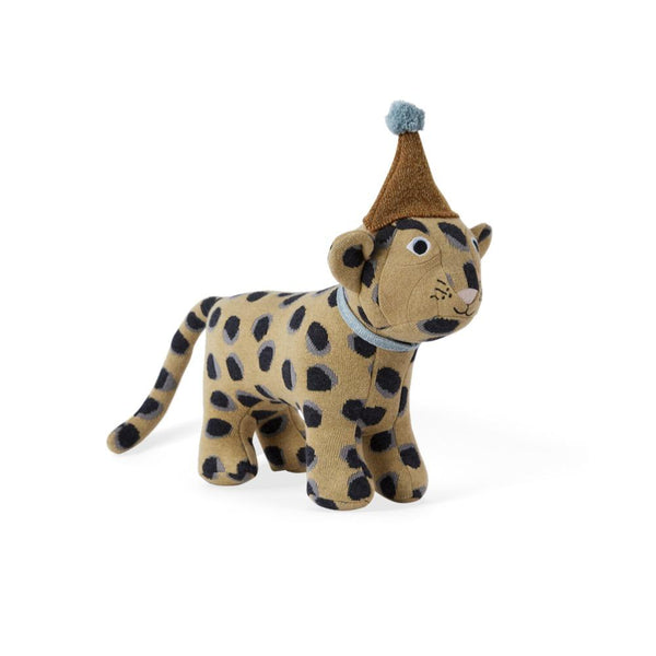OYOY Living Design - OYOY MINI Darling Cushion - Baby Elvis Leopard Soft Toys 908 Multi