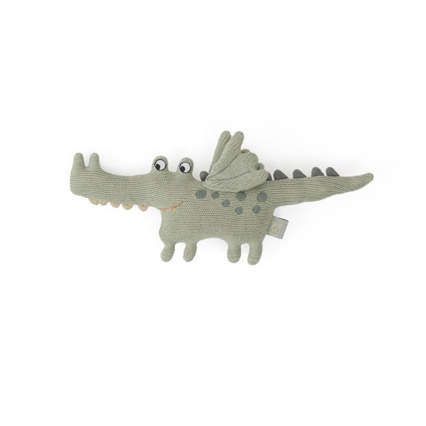 OYOY Living Design - OYOY MINI Darling Rattle - Baby Buddy Crocodile Soft Toys 701 Green ?id=14458654883920
