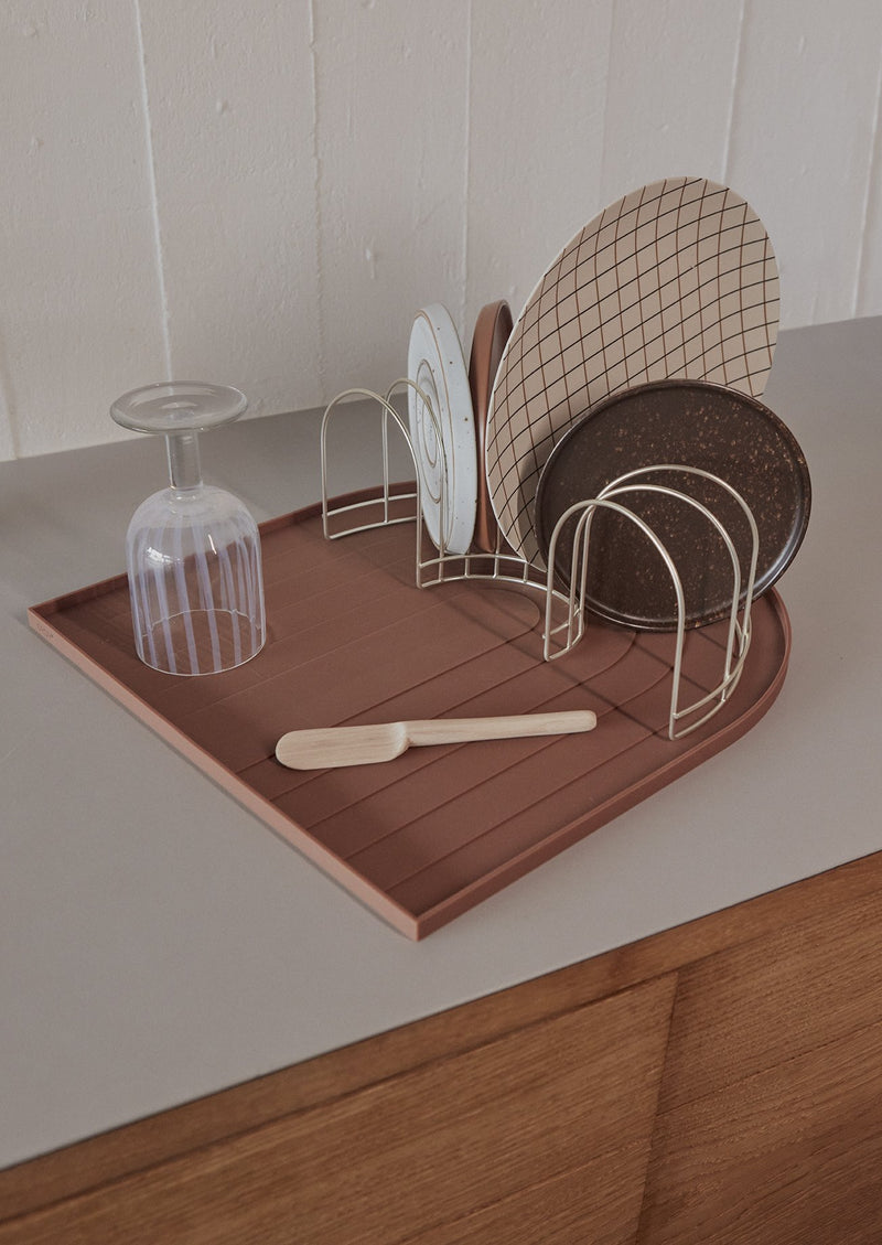 OYOY Living Design - OYOY LIVING Dish Tray Kitchen accessories 314 Fudge