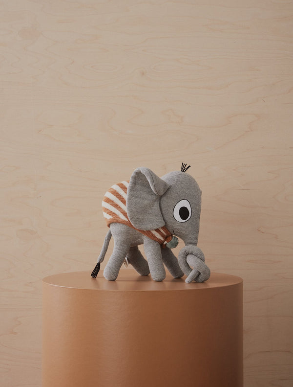 OYOY Living Design - OYOY MINI Elephant Henry Soft Toys 203 Grey ?id=16031267913808