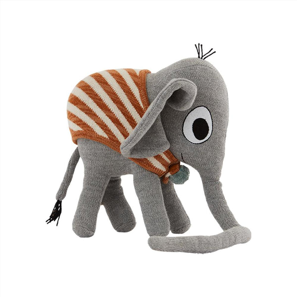 OYOY Living Design - OYOY MINI Elephant Henry Soft Toys 203 Grey ?id=16169724575824