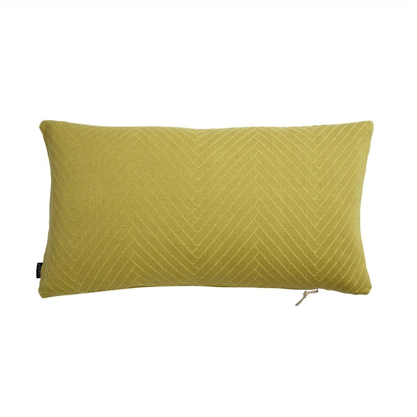 OYOY Living Design Fluffy Herringbone Cushion Cushion 801 Yellow