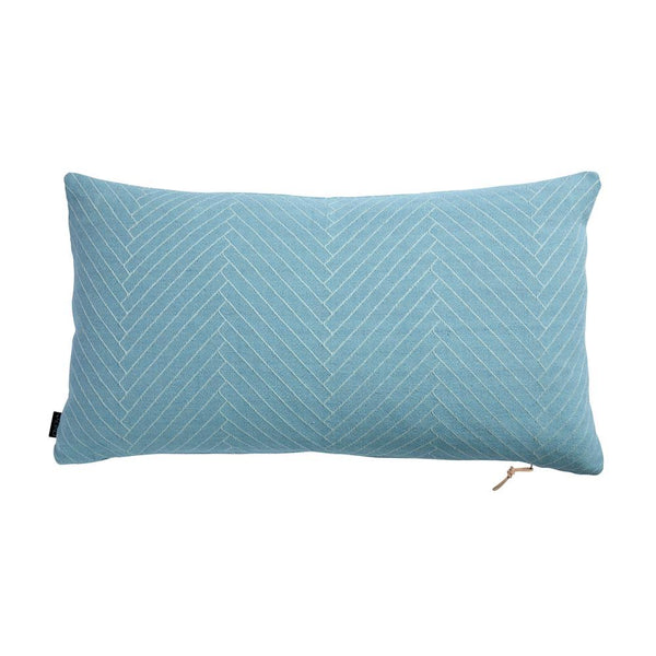 OYOY Living Design - OYOY LIVING Fluffy Herringbone Cushion Cushion 606 Aqua