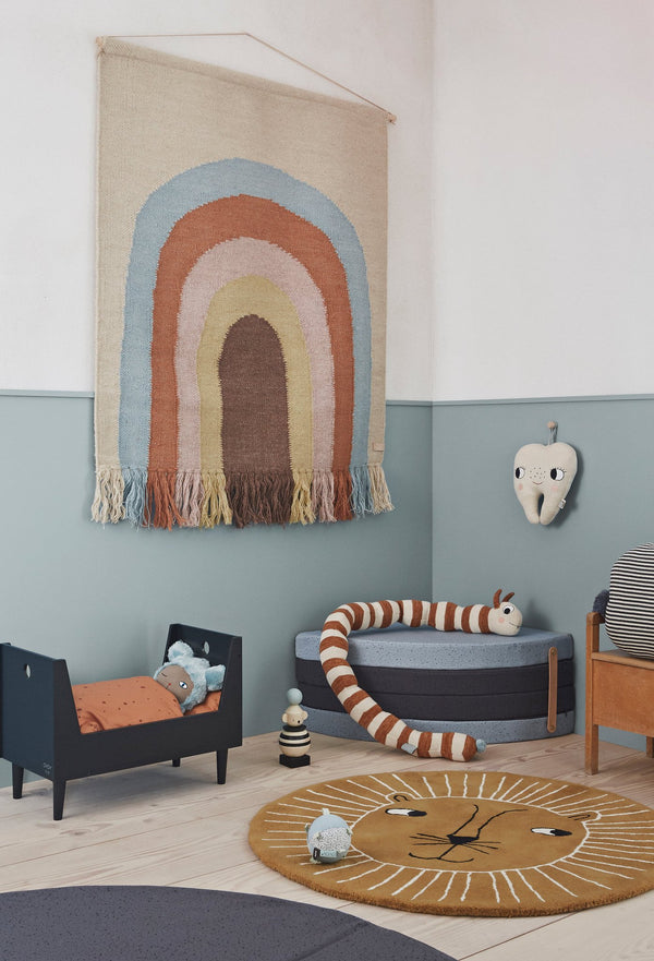 OYOY Living Design - OYOY MINI Follow The Rainbow Wall Rug Rug 908 Multi ?id=13124711186512