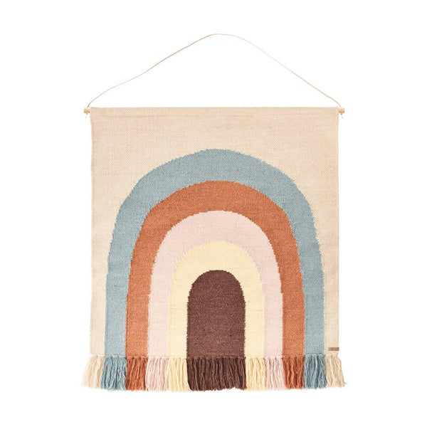 OYOY Living Design - OYOY MINI Follow The Rainbow Wall Rug Rug 908 Multi