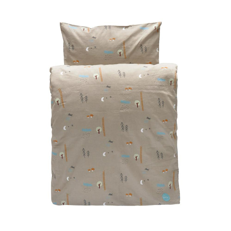 OYOY Living Design - OYOY MINI Happy Forest Bedding - Junior Bedding 304 Light Brown