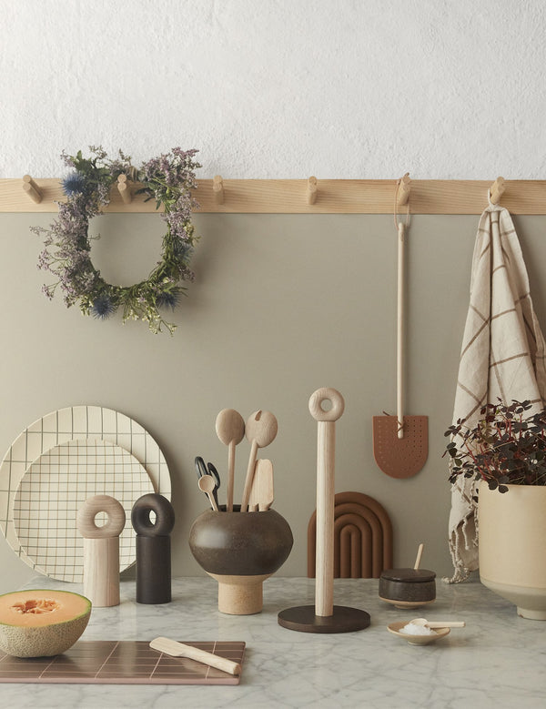 OYOY Living Design - OYOY LIVING Hoop Paper Towel Holder Kitchen accessories 901 Nature
