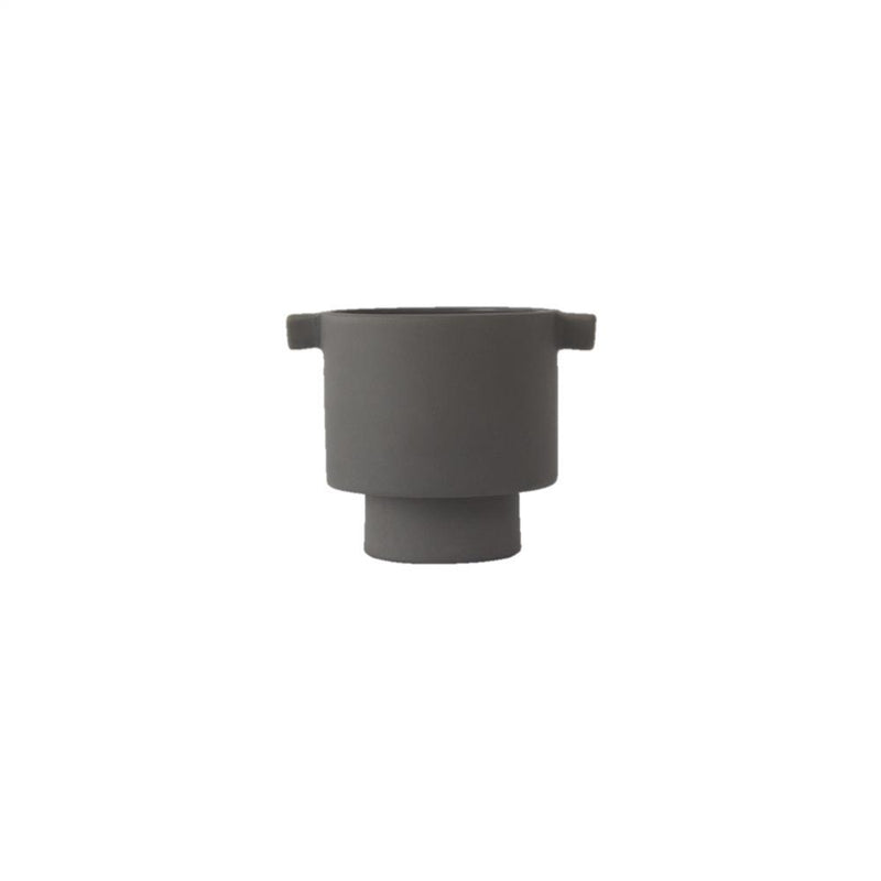 OYOY Living Design - OYOY LIVING Inka Kana Pot - Small Vase 203 Grey