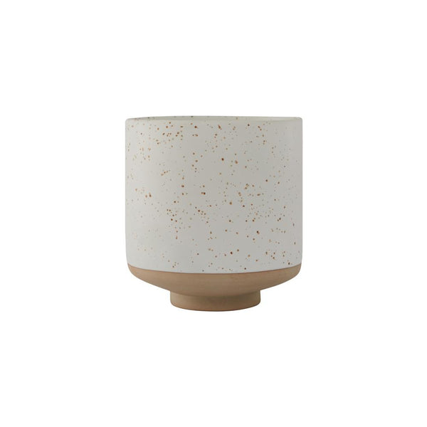 OYOY Living Design - OYOY LIVING Hagi Pot Flowerpot 101 White / Light Brown ?id=14458568179792