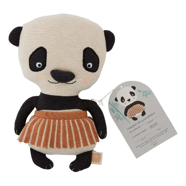 OYOY Living Design - OYOY MINI Lun Lun Panda Bear Soft Toys 908 Multi ?id=15658480402512