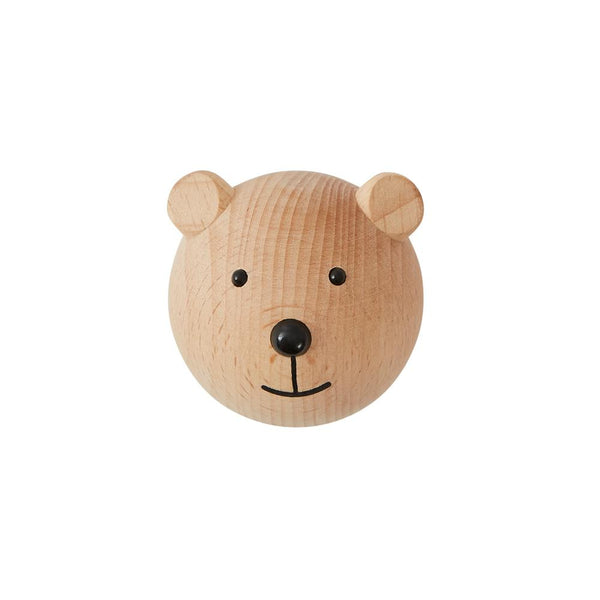 OYOY Living Design - OYOY MINI Mini Hook - Bear Hook 901 Nature ?id=14456578605136