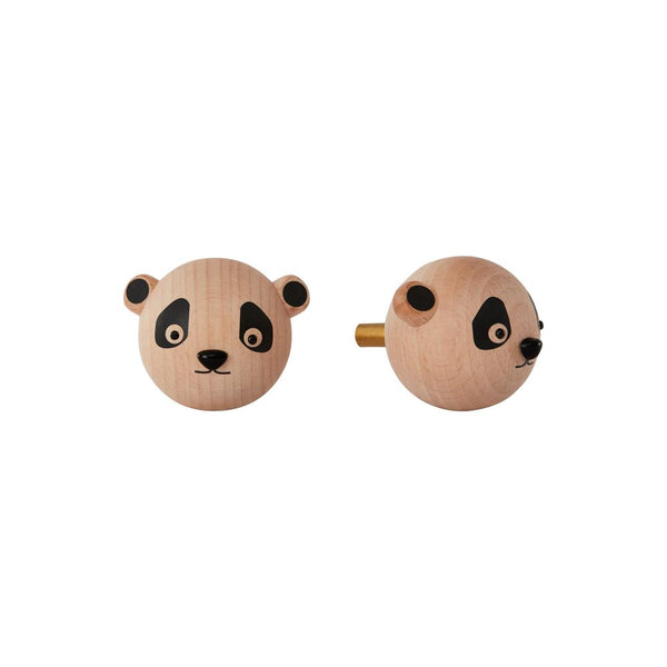 OYOY Living Design - OYOY MINI Mini Hook - Panda Hook 901 Nature