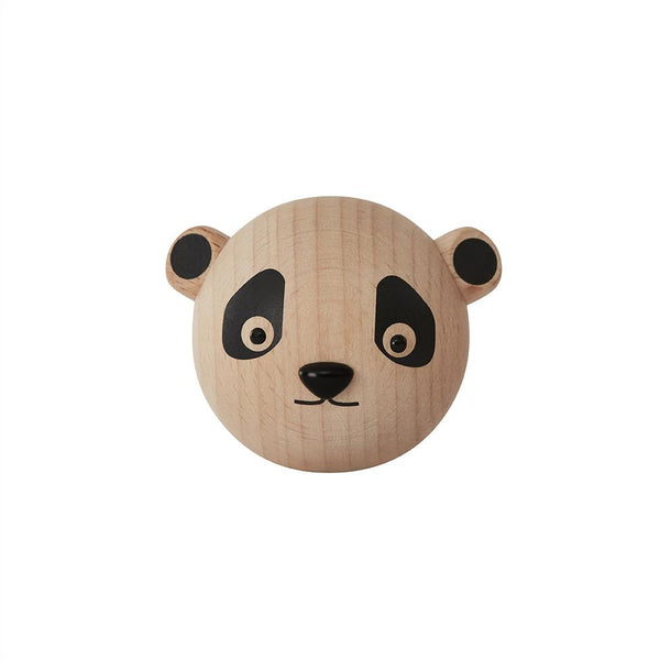OYOY Living Design - OYOY MINI Mini Hook - Panda Hook 901 Nature ?id=15337011249232