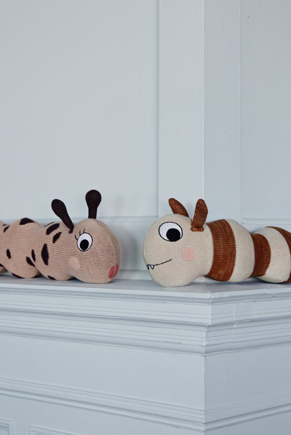 OYOY Living Design - OYOY MINI Miss Lala Larva Soft Toys 404 Powder ?id=12870298370128