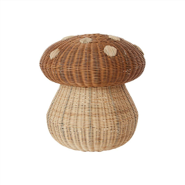 OYOY Living Design - OYOY MINI Mushroom Basket Storage 901 Nature ?id=16169200517200
