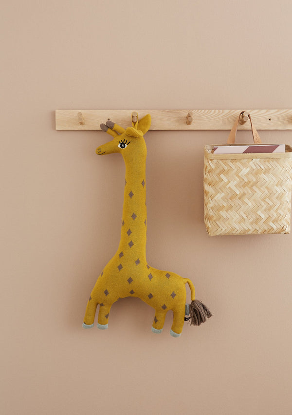 OYOY Living Design - OYOY MINI Noah Giraffe Cushion Soft Toys 804 Curry ?id=14456468242512